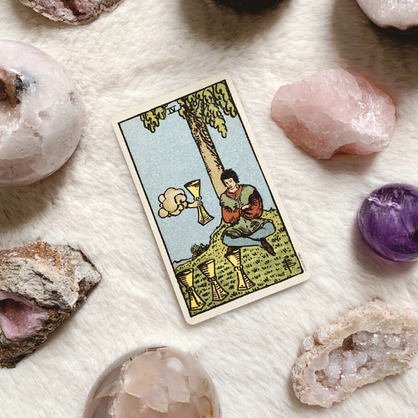 The Tarot Four of Cups for relationships, love, outcome, future, ex returning, yes or no