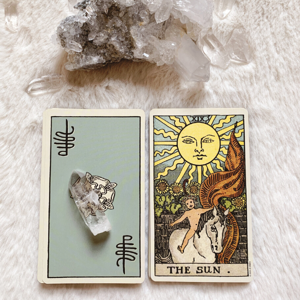 The Tarot Sun for relationships, love, outcome, future, ex returning.