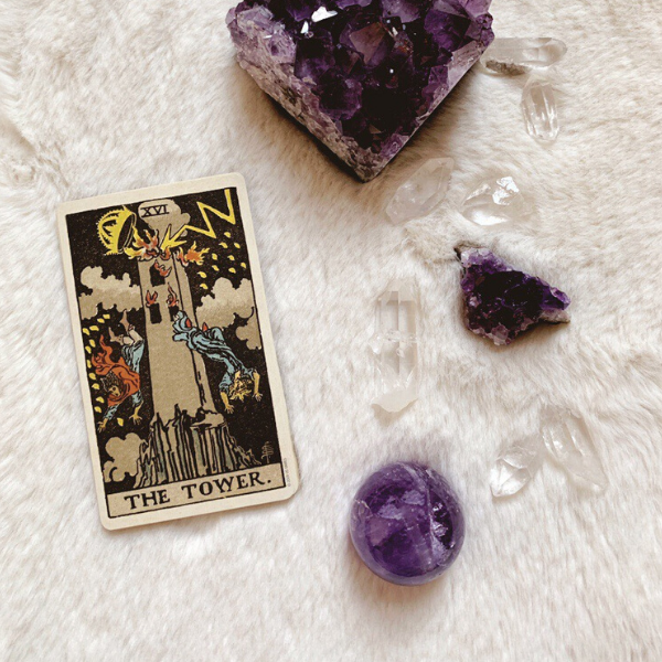 The Tarot Tower for relationships, love, outcome, future, ex returning, yes or no.