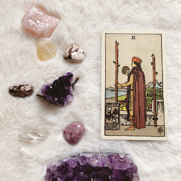 The Tarot Two of Wands for relationships, love, outcome, future, ex returning, yes or no.