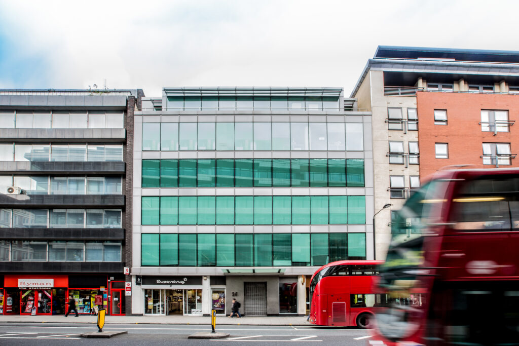 Graphic: Street view of 16 High Holborn