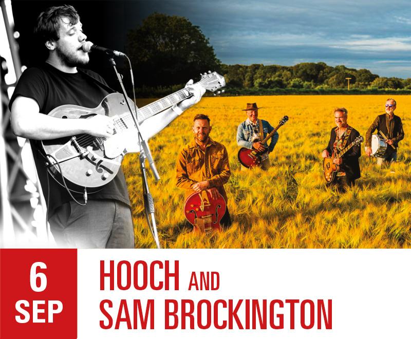 LIVE 06/09/20 – Hooch and Sam Brockington