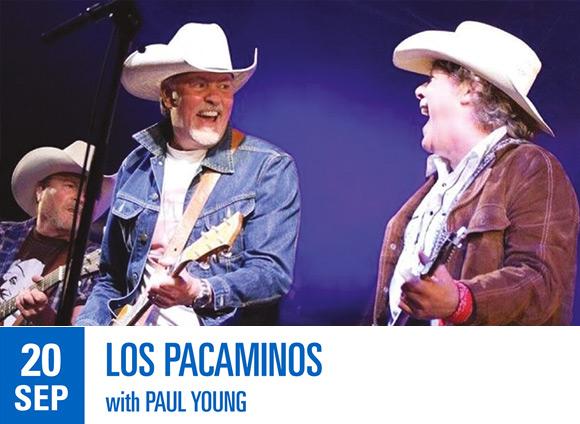 LIVE: 20/09/2020 – Los Pacaminos with Paul Young