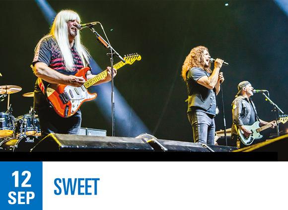 LIVE: 12/09/2020 – Sweet