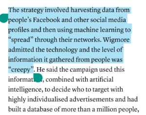 The Guardian: Impossible & nonsense claims about Facebook.