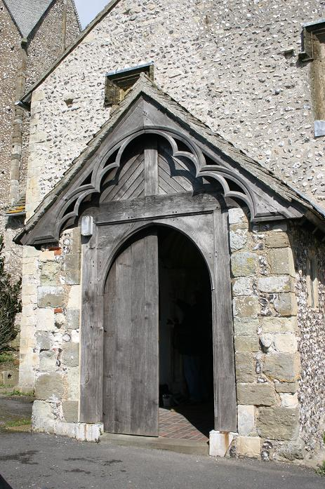 16th century South porch