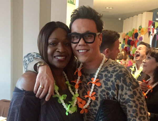Angie Greaves and Gok Wan