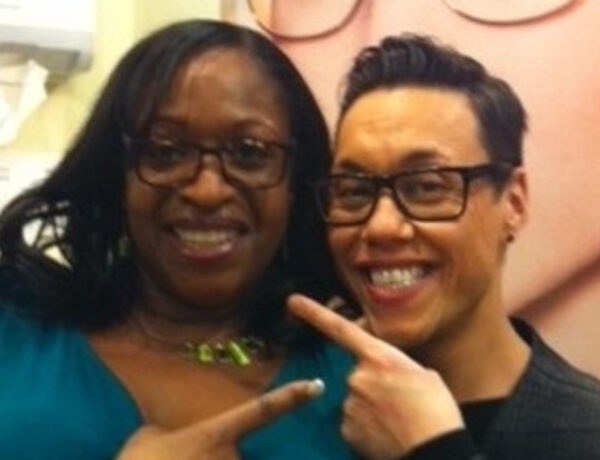 Angie and Gok Wan