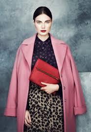M&S pink coat
