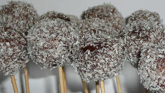 Coconut Cake Pop