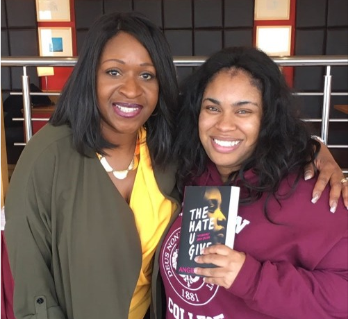 Angie Greaves and Angie Thomas