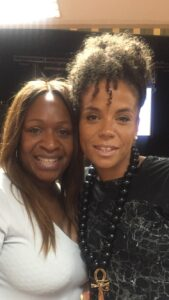 Angie Greaves and Ms Dynamite