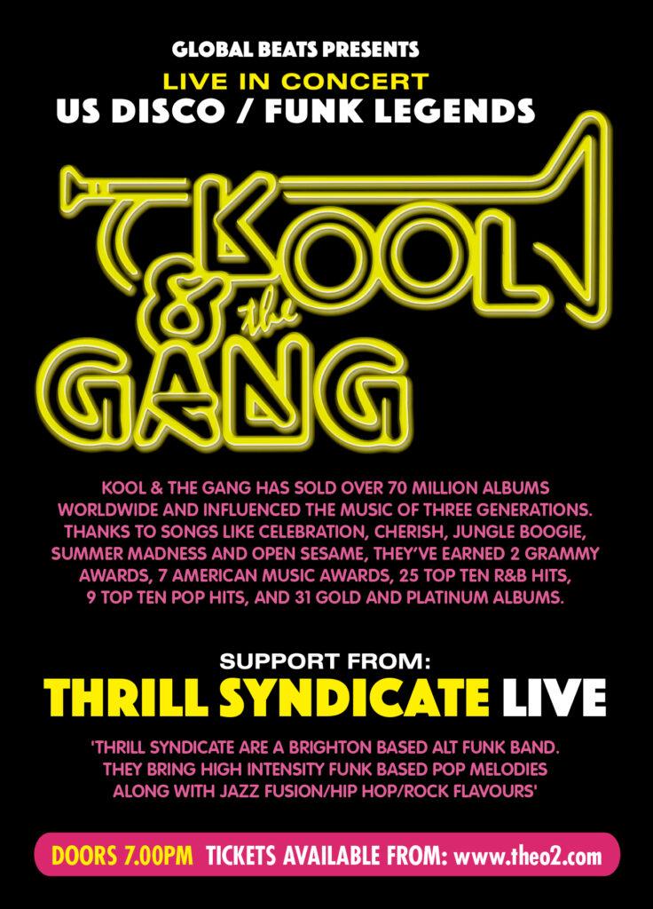 Kool & The Gang Advert