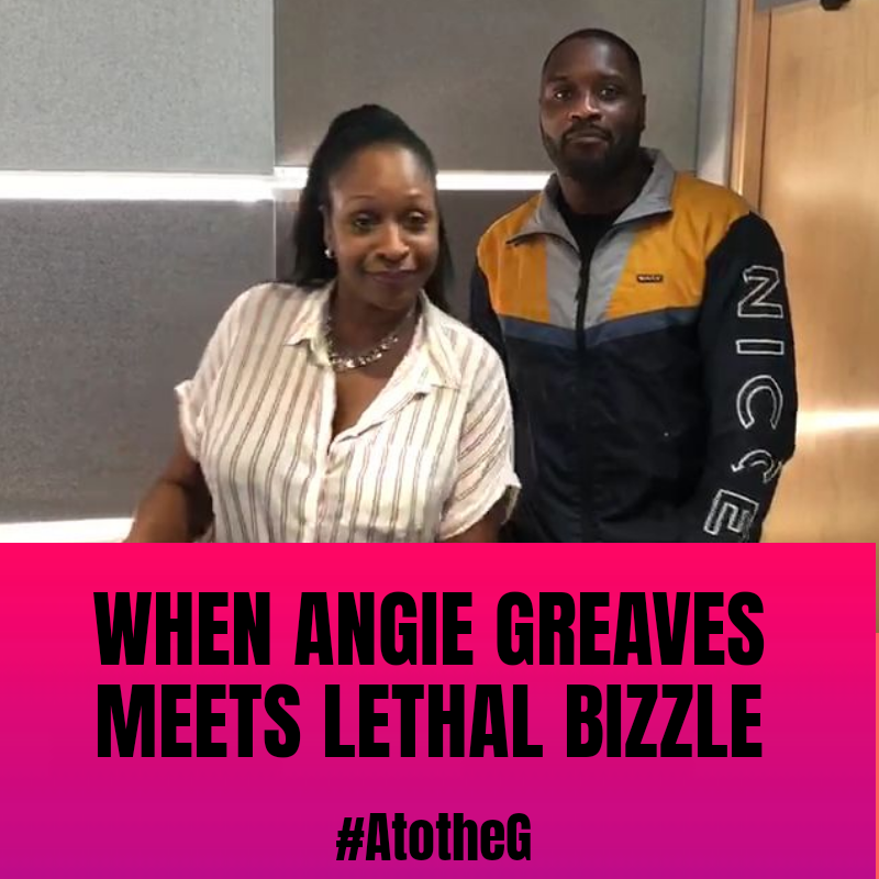 Angie Greaves and Lethal Bizzle