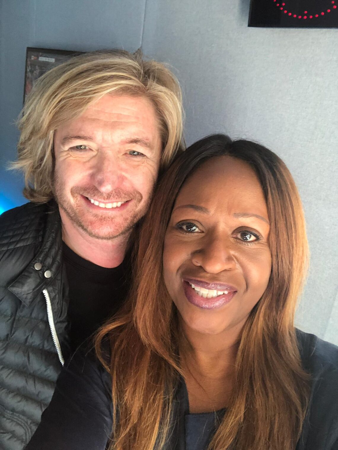 Angie Greaves and Nicky Clarke