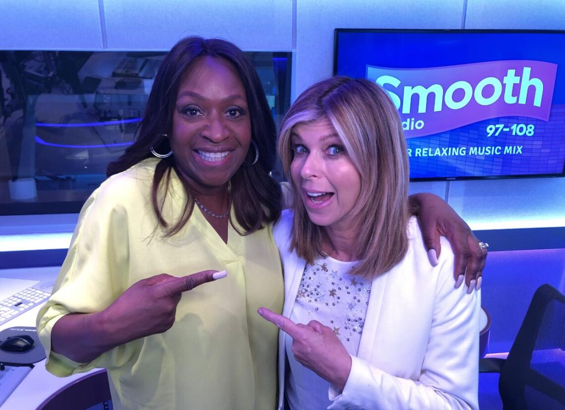 Angie Greaves and Kate Garraway