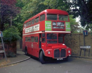 71 Red Rover Bus c1960