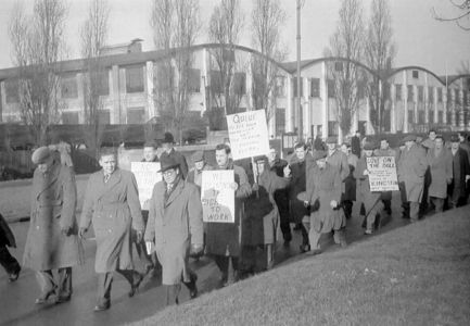 Demo March Leyland Factory