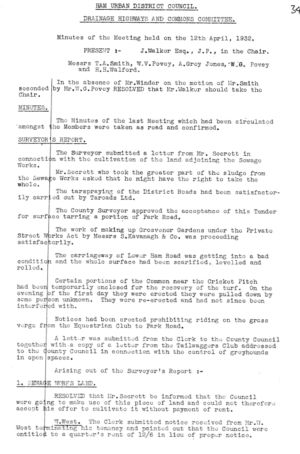 Drainage Highways & Commons Committee 05 12 Apr 1932 1