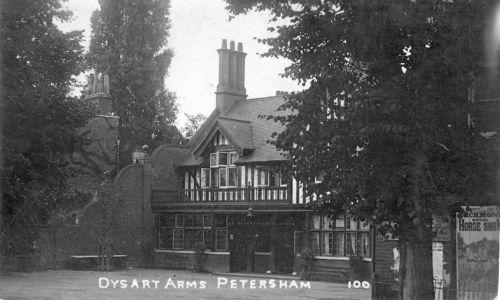 Dysart Arms from a postcard