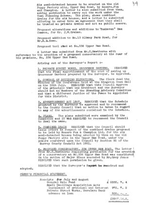 Finance & General Purposes Committee 29 13 Sept 1932 2