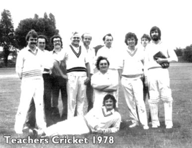 Grey Court Cricket Team 1978
