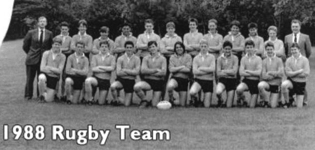 Grey Court Rugby Team 1988