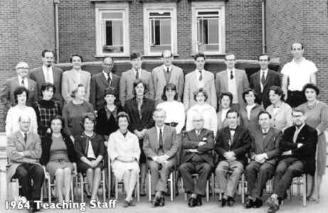 Grey Court Teachers 1964