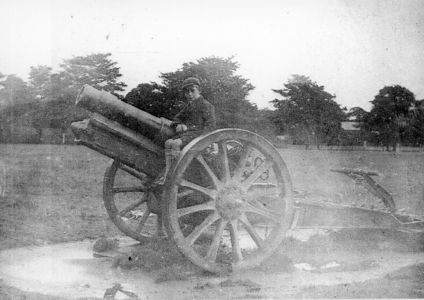 Ham Common - Artillery Gun from WW1