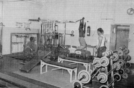 Latchmere House Prison Gym 2