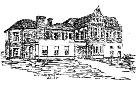 Latchmere House Prison - a drawing by HB Bingham 1991