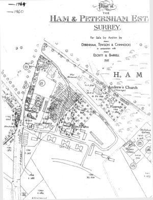Map Parkleys1949 and 1960