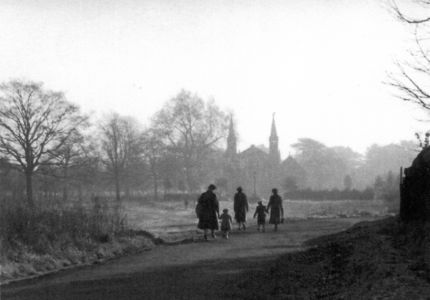 St Andrew's Church from Ham Common