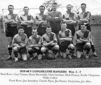 Surrey Junior Cup Winners 1959-60