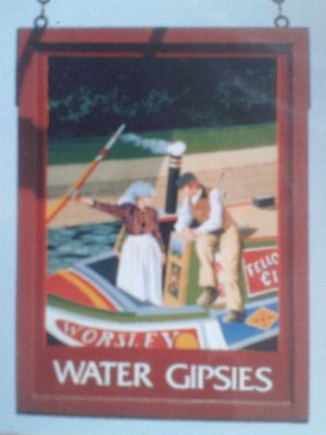 Water Gipsies pub sign