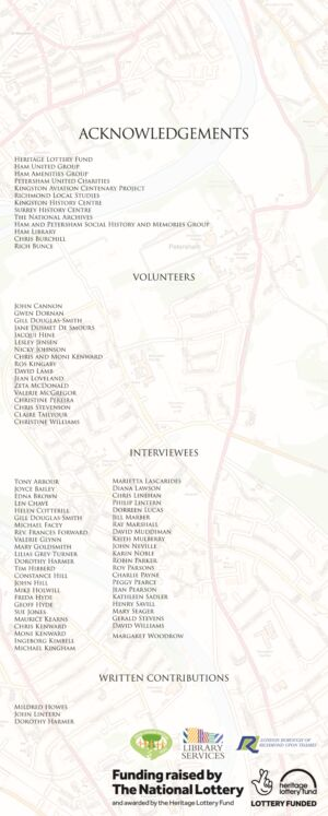 acknowledgements V4 board