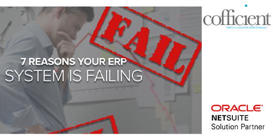 ERP's failing
