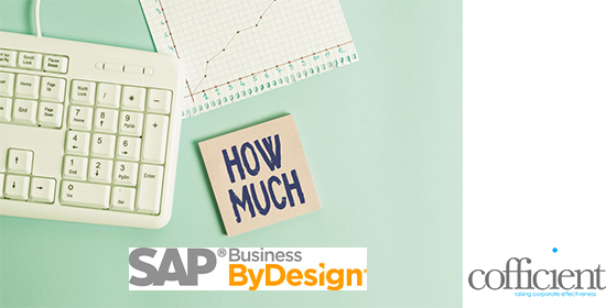 how much does sap business bydesign cost