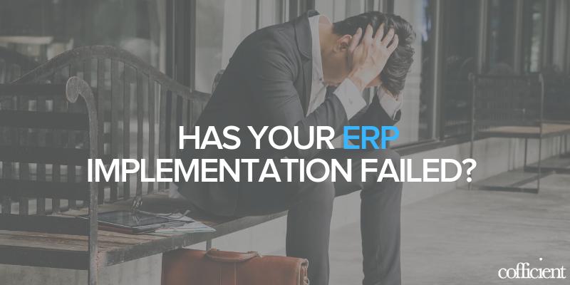 ERP Implementation Fail