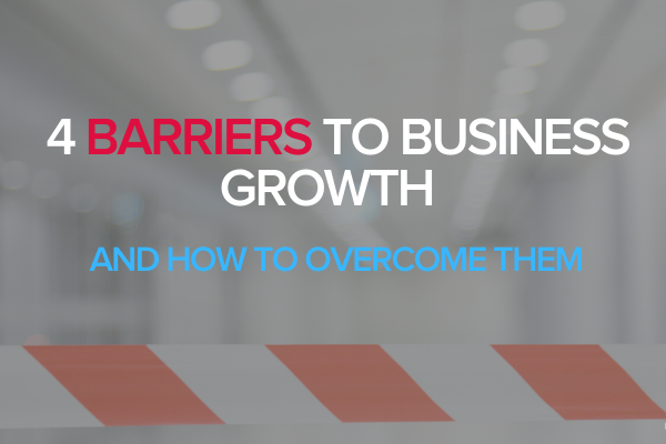 Barriers to business growth