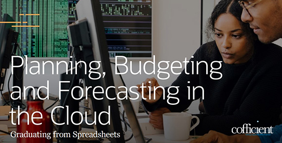 Planning, Budgeting and Forecasting in the Cloud