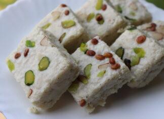 barfi recipe amma ki thaali