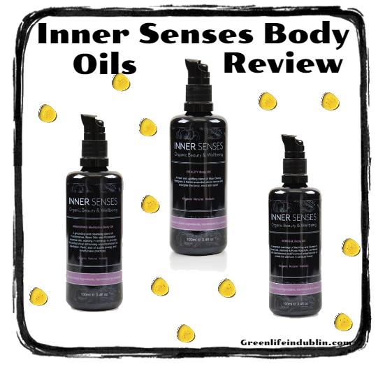 Inner Senses Organic Beauty & Wellbeing Body Oils Review