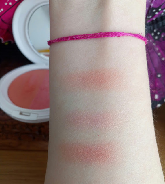 Ere Perez blush swatched