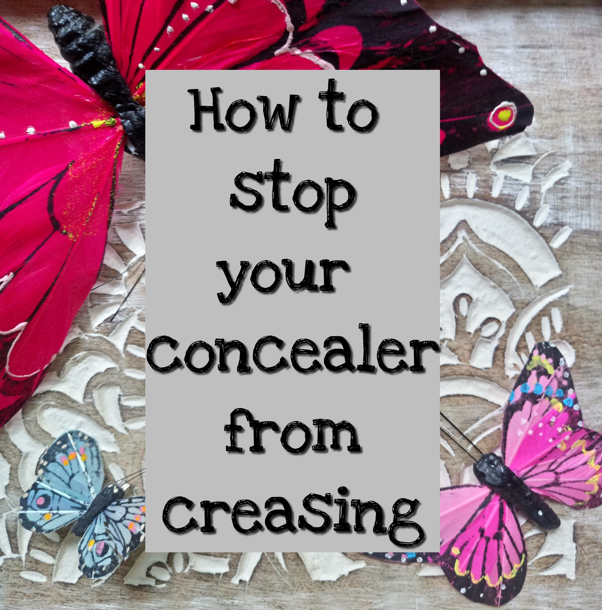 How To Stop Your Concealer From Creasing