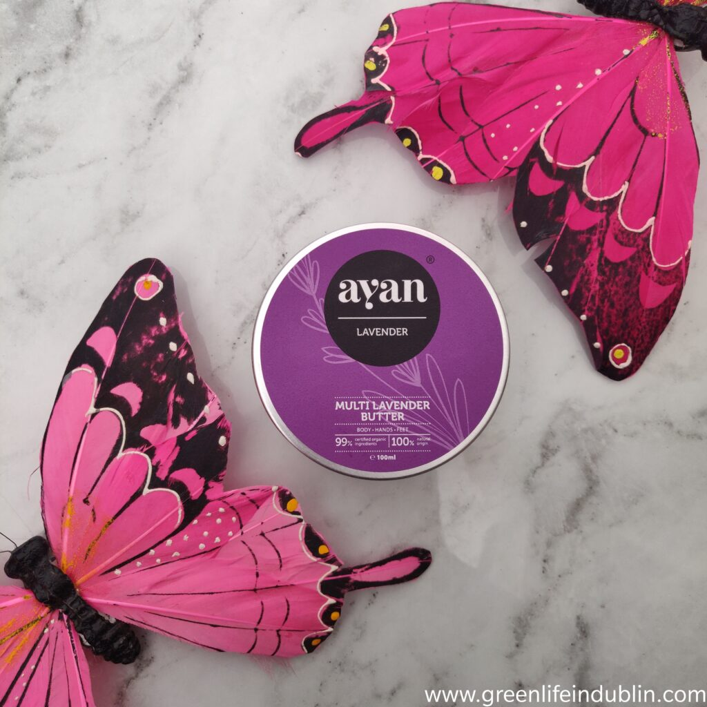 AYAN Multi Lavender Butter Body Hands Feet Review