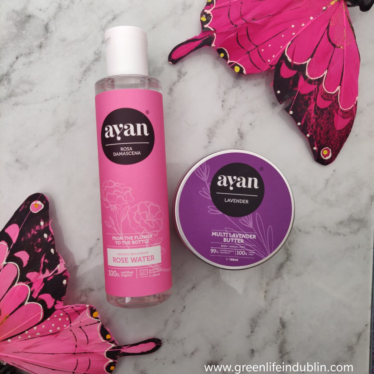 Ayan Review – Body Butter & Organic Rose Water [AD]
