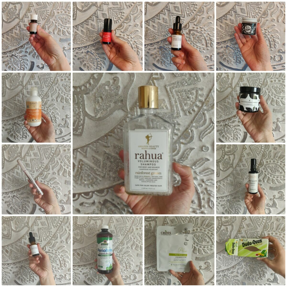 Natural & Organic May 2019 Empties