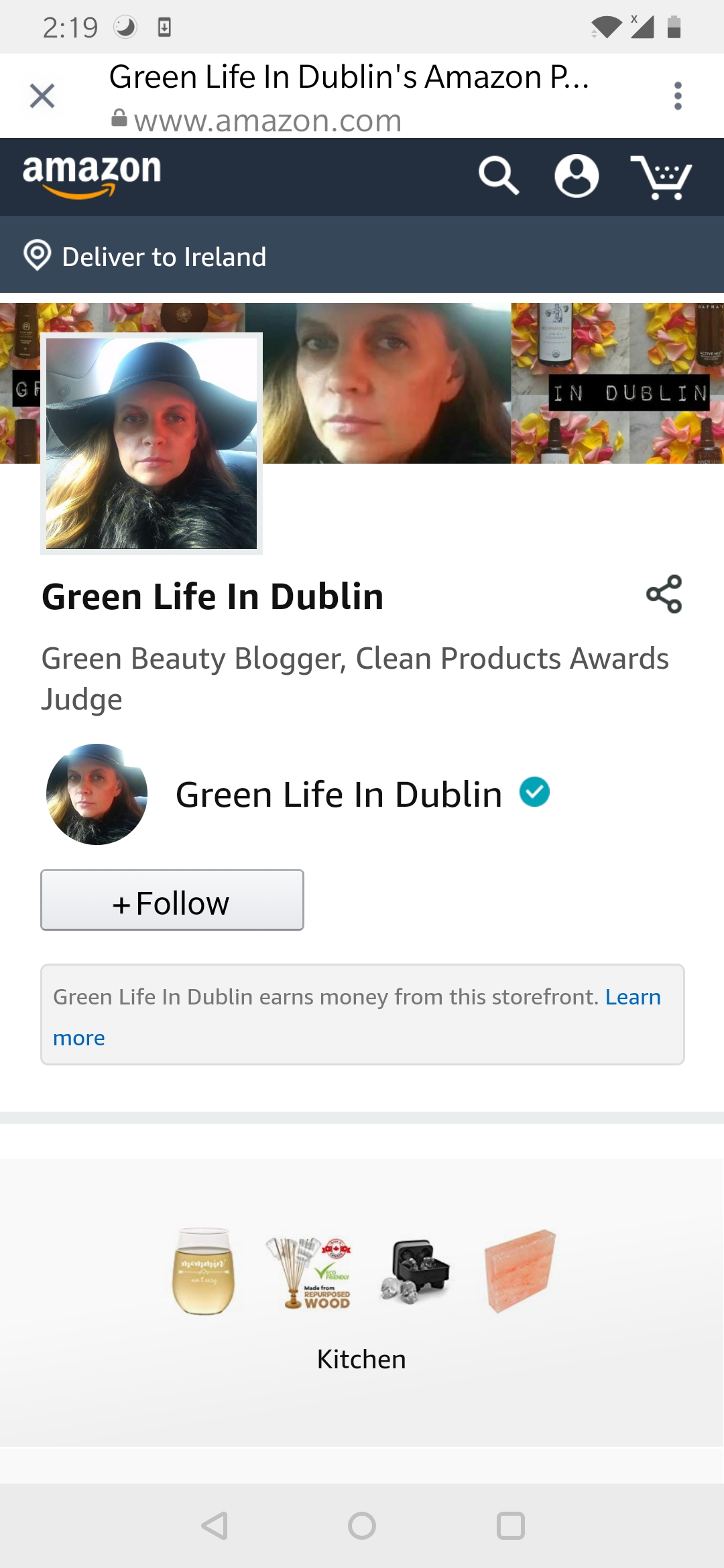 Green Life In Dublin Amazon Page