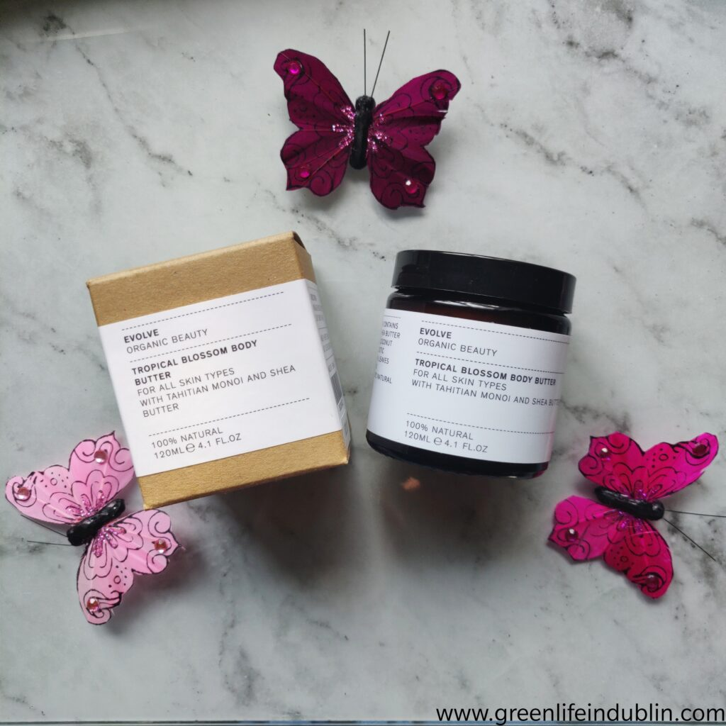 Evolve Organic Beauty Tropical Body Butter review